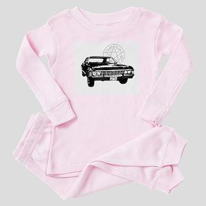 Impala with devils trap Baby Pajamas