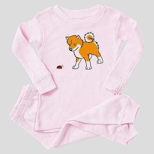 Shiba Bug Baby Pajamas