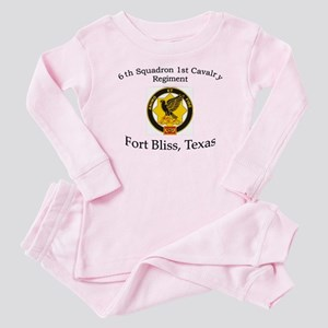 6th Squadron 1st Cav Baby Pajamas