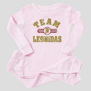 300 Team Leonidas Baby Pajamas