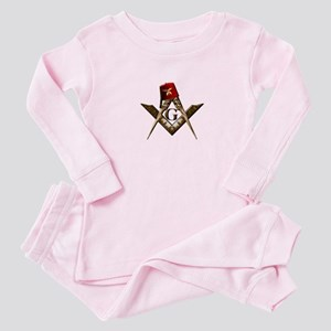 Shrine Mason Baby Pajamas