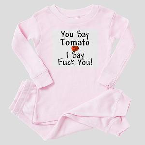 You Say Tomato... Baby Pajamas