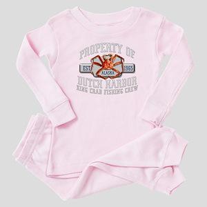 DEADLIEST CRABS Baby Pajamas