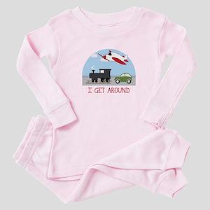 I Get Around Baby Pajamas