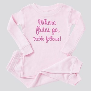Funny Flute Baby Pajamas