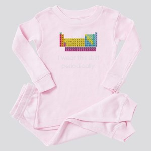 I Wear This Shirt Periodically Baby Pajamas