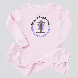 With God Cross PROSCANC Baby Pajamas