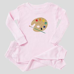 Painters Palette Baby Pajamas