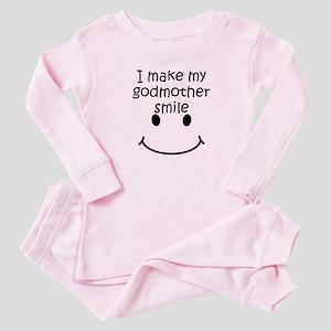I Make My Godmother Smile Baby Pajamas