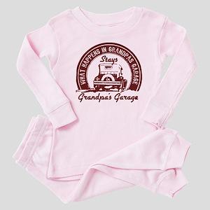 Grandpa's Garage Baby Pajamas