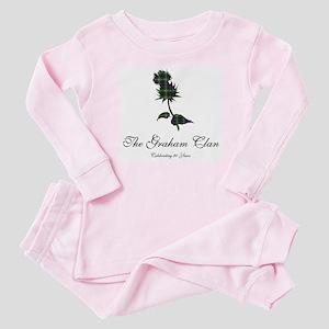 Graham Clan 90th Birthday Bag Baby Pajamas