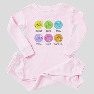SIGN LANGUAGE Baby Pajamas