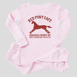 Longmire Red Pony Baby Pajamas
