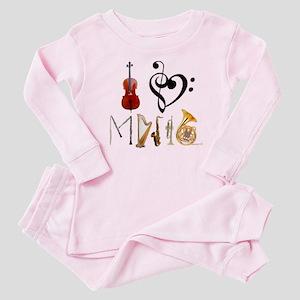 I3Musicblack Baby Pajamas