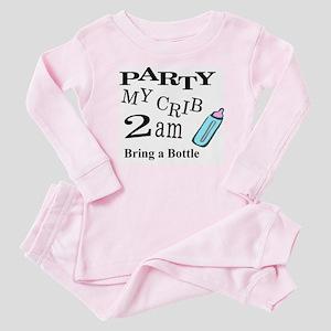 PARTY MY CRIB Baby Pajamas