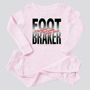Footbraker: Thinkin' Outside  Baby Pajamas