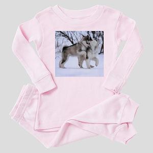 Wolves Playing Baby Pajamas
