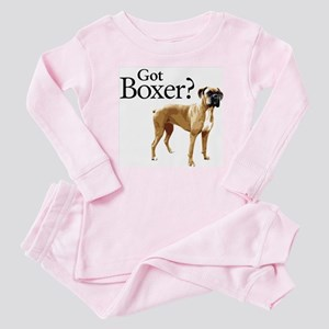 Got Boxer? Baby Pajamas
