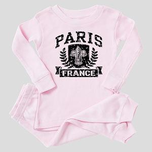 Paris France Baby Pajamas