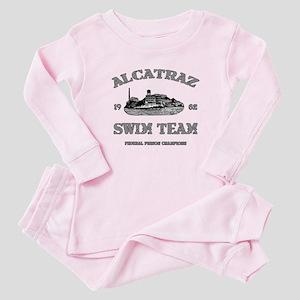 ALCATRAZ SWIM TEAM Baby Pajamas