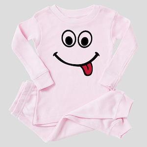 Smiley Baby Pajamas