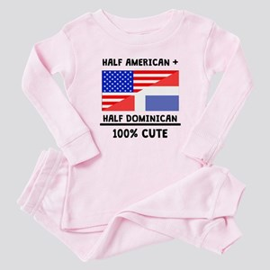 Half Dominican 100% Cute Baby Pajamas