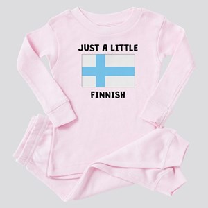 Just A Little Finnish Baby Pajamas