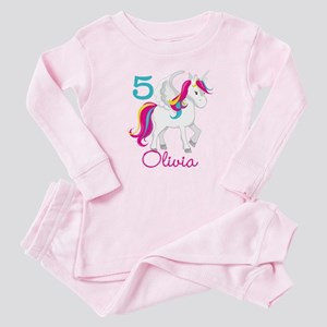 Unicorn Birthday Baby Pajamas