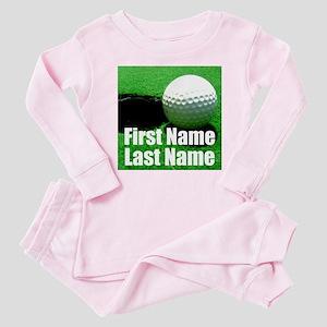 Golfball Baby Pajamas