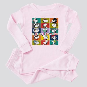 Snoopy-You Can Be Anything Baby Pajamas