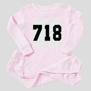 """""""718"""" Baby Pajamas"""