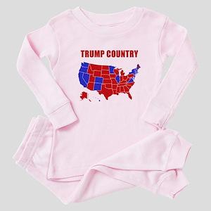 Trump Country Baby Pajamas