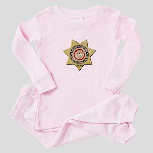 San Bernardino Sheriff-Coroner Baby Pajamas
