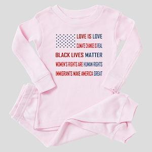 Love is Love Baby Pajamas
