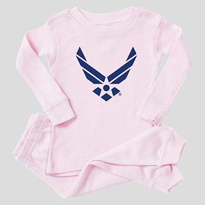 U.S. Air Force Logo Baby Pajamas
