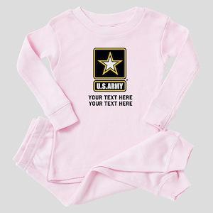 US Army Star Baby Pajamas