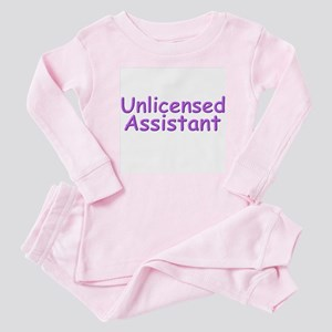 Unlicensed Assistant Baby Pajamas