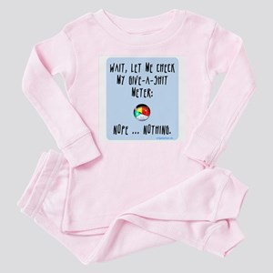 Give-a-shit meter Baby Pajamas