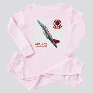 VFA-102 DIAMONDBACKS Baby Pajamas