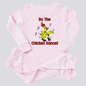 Do the Chicken Dance! Baby Pajamas