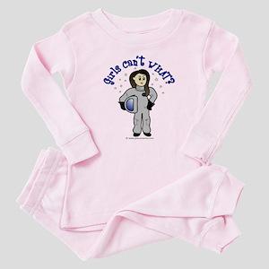 Light Astronaut Baby Pajamas