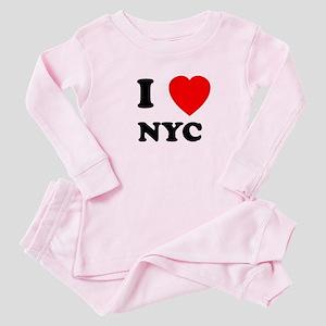NYC Baby Pajamas