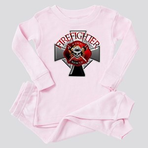 Firefighter Baby Pajamas