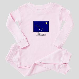 Alaska - Alaskan Flag Baby Pajamas