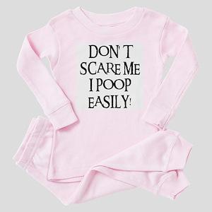 I POOP EASILY! Baby Pajamas