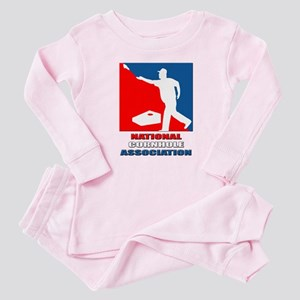 National Cornhole Association Baby Pajamas