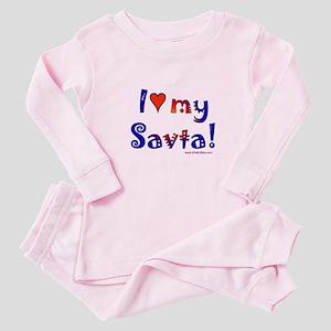 I love my Savta Baby Pajamas