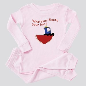 Whatever floats your boat Baby Pajamas