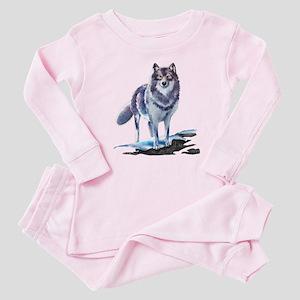 Wolf Baby Pajamas