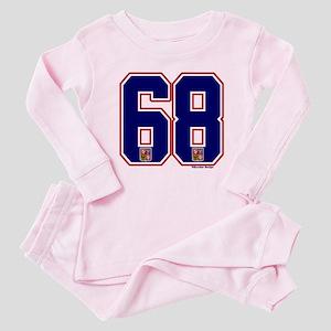 CZ Czech Ceská Hockey 68 Baby Pajamas